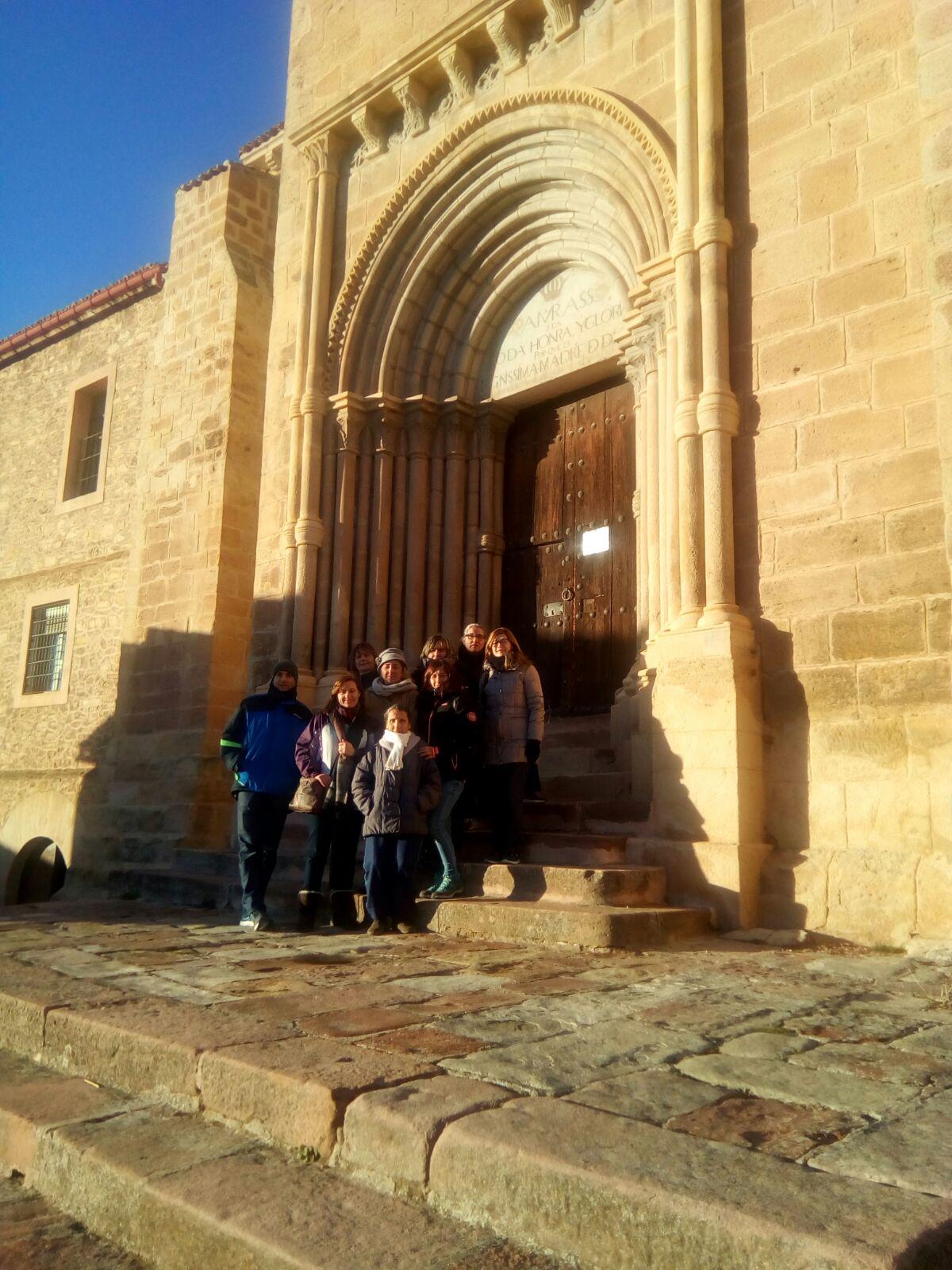 Visita a la iglesia de «Santa Catalina» de Molina de Aragón.