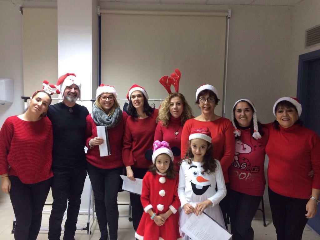 Los alumnos de inglés de Marchamalo del A1 y A2 colaboran en la gala benéfica para la fundación Vicente Ferrer.
