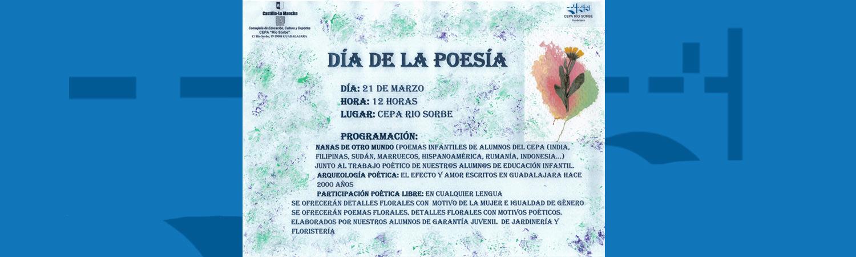 El día de la poesía en la revista «Educar en Castilla La Mancha»