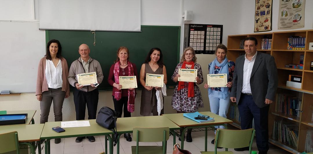 Entrega de premios Concurso de Poesía